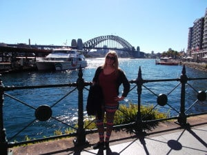 Being a tourist in Sydney!