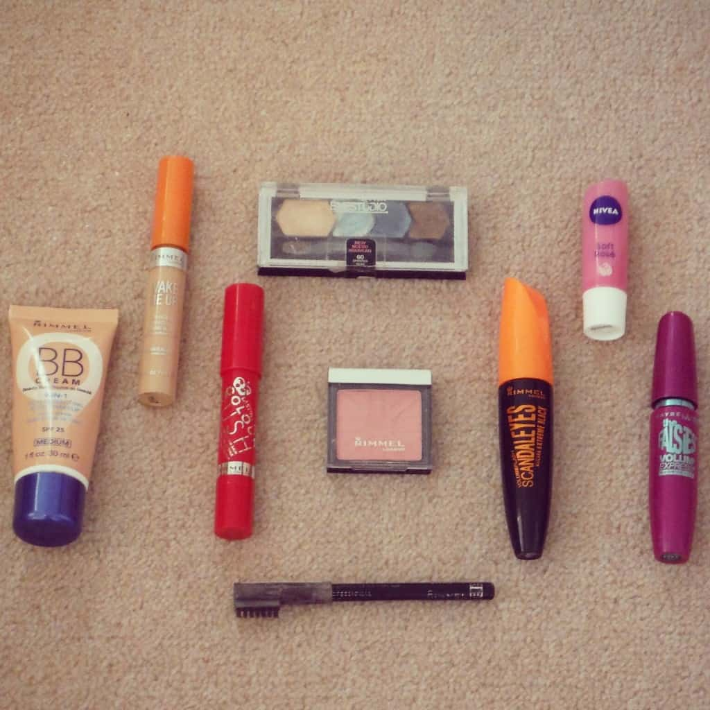 Probably too much makeup..opps!