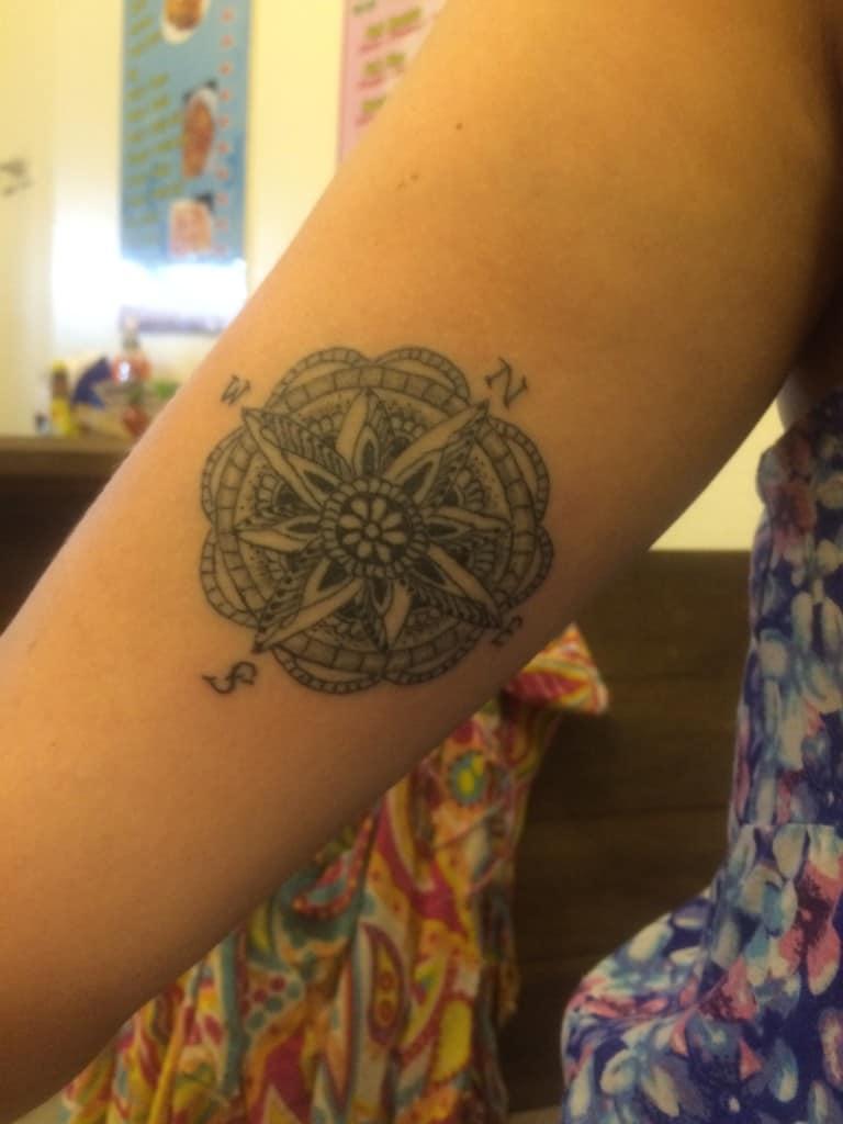 phi phi island bamboo tattoo