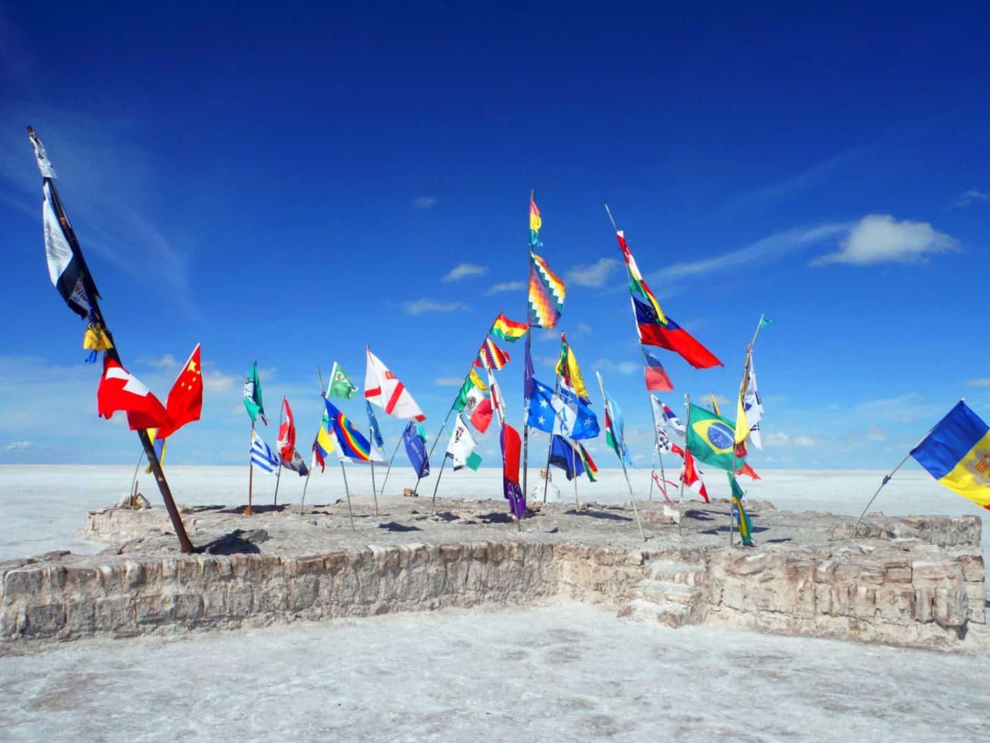 south america must visit places Bolivia Salt Flats