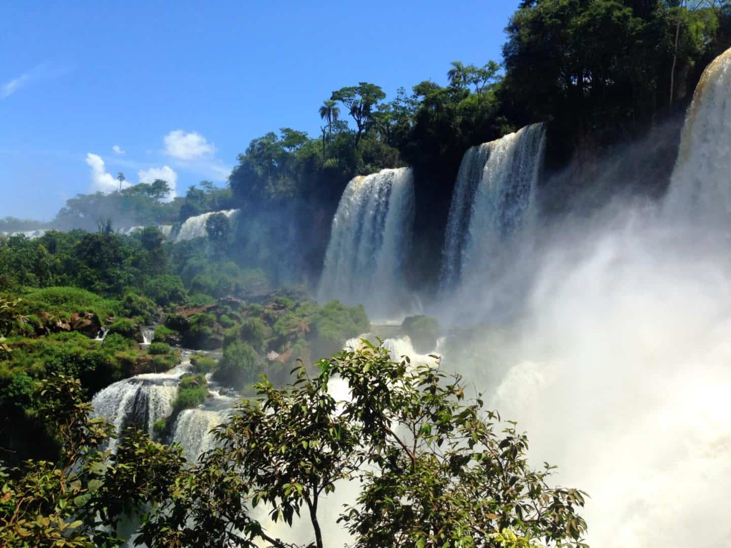 south america must visit places Iguazu Falls