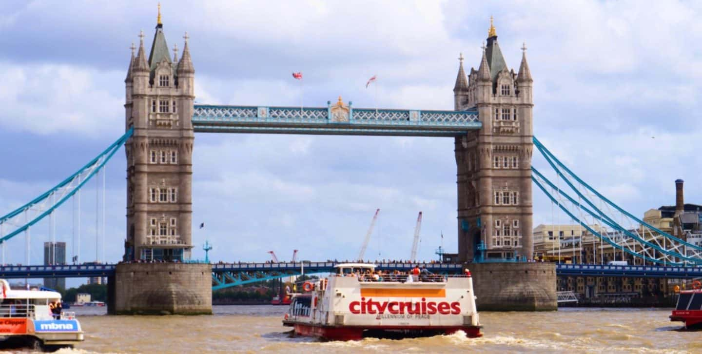 10 Reasons to Cruise the Thames with City Cruises.