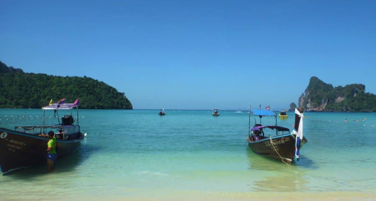 Getting a Bamboo Tattoo on Phi Phi Island in Thailand!!