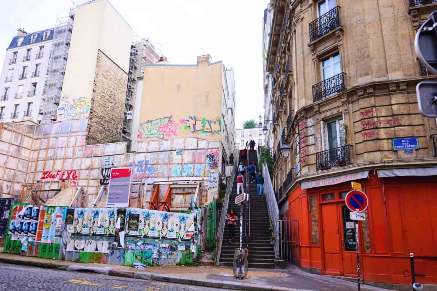 Walk Montmartre to Eiffel Tower Paris