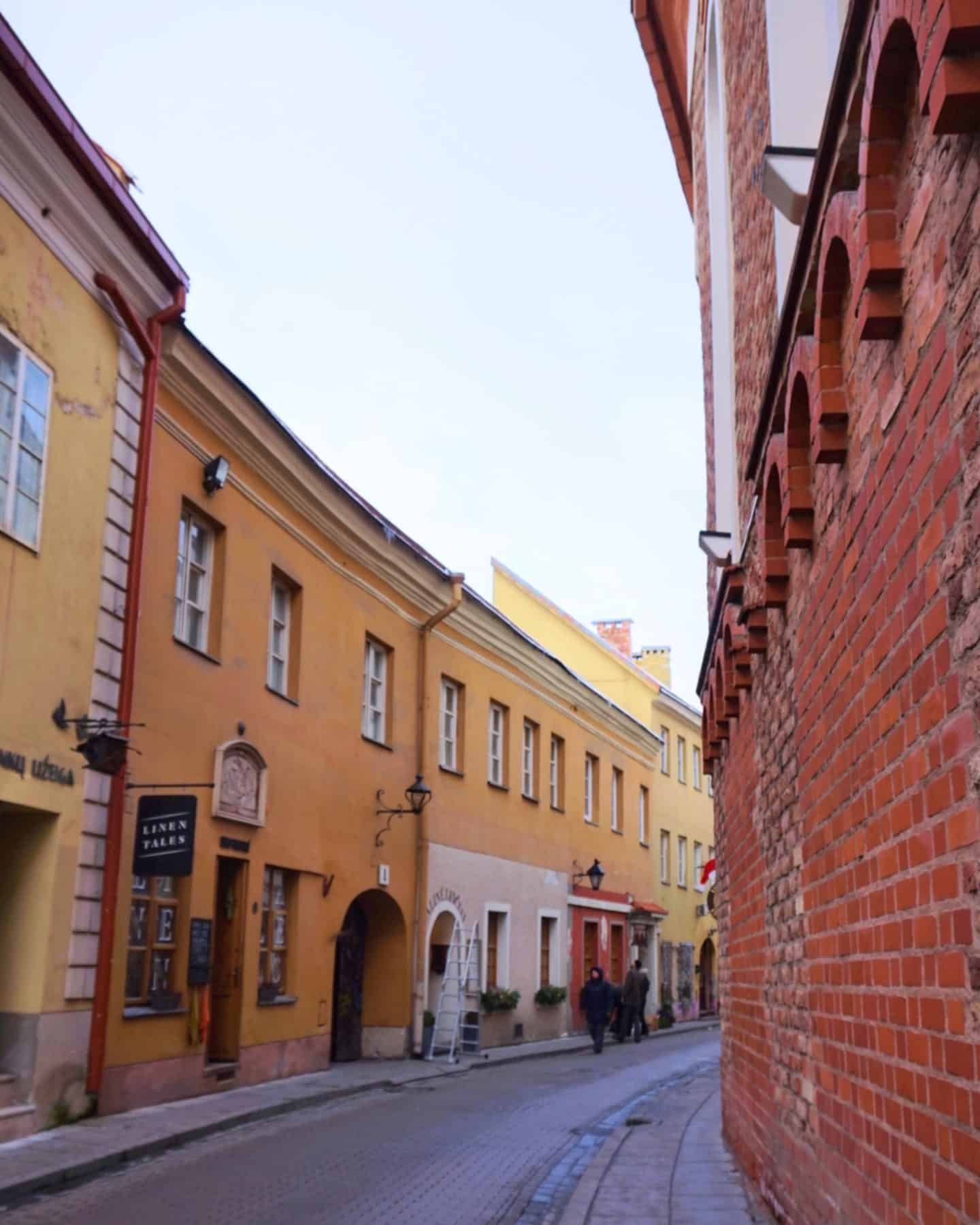 Vilnius Lithuania guide old town