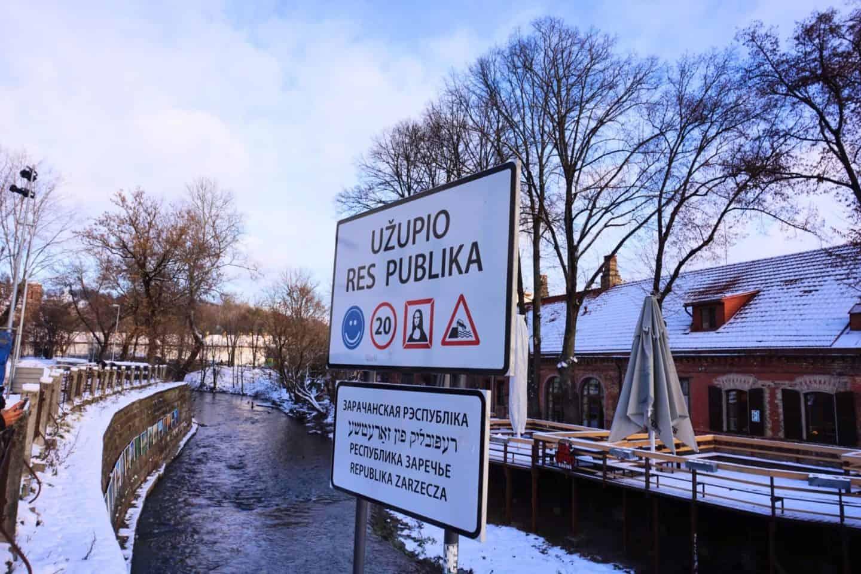 Vilnius Lithuania guide uzupio