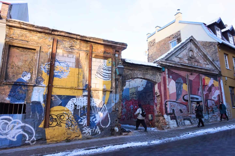 Vilnius Lithuania guide uzupis