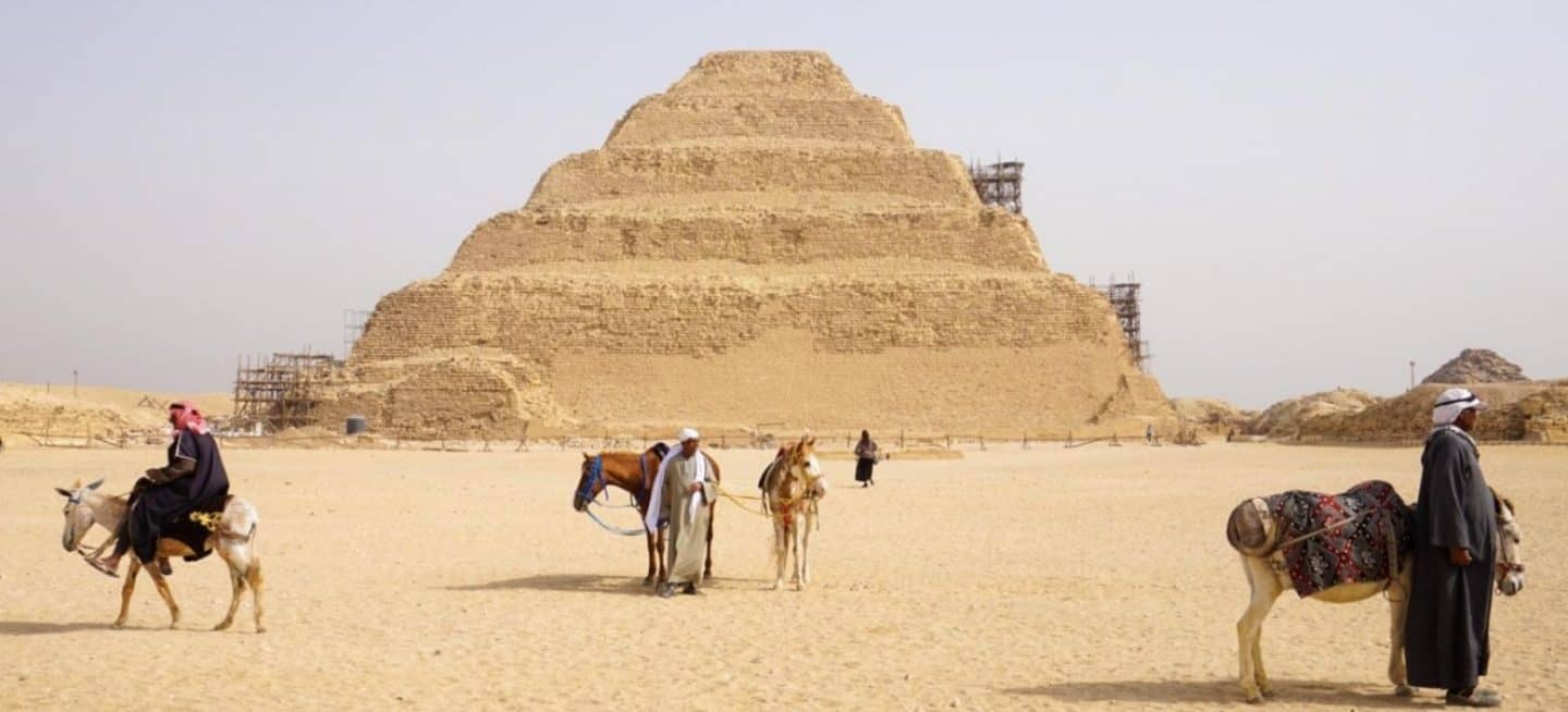 Seeing Egypt's Top Attractions in 1 week with Travel Talk Tours.