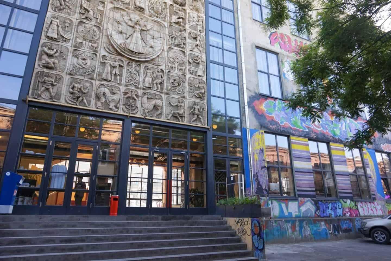 Fabrika hostel Georgia Tbilisi