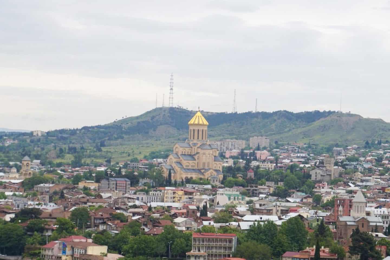 guide to Tbilisi Georgia samba cathedral