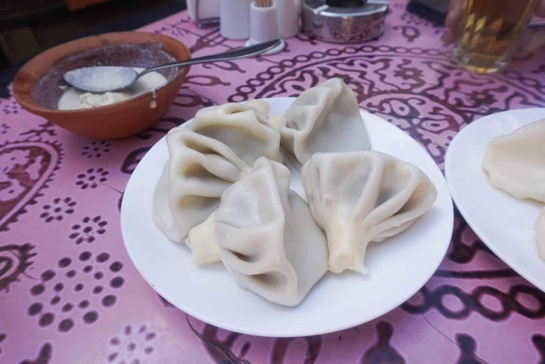 guide to Tbilisi Georgia dumplings