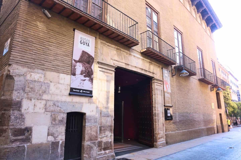 guide to Zaragoza spain goya museum