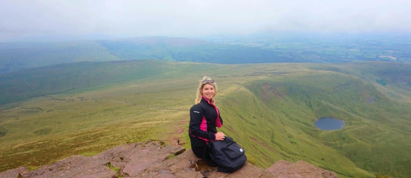 Hiking Pen Y Fan in the Brecon Beacons, Wales!