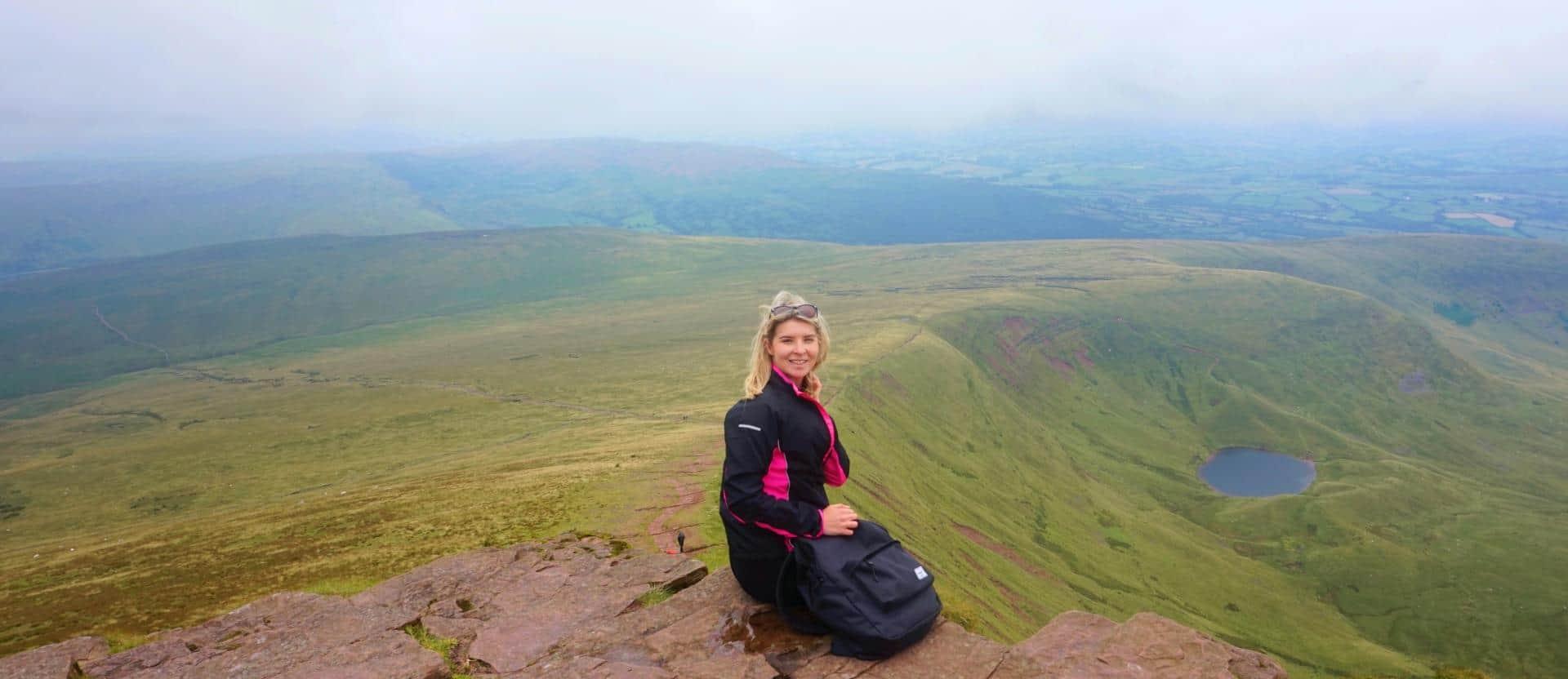Hiking Pen Y Fan in the Brecon Beacons, Wales!