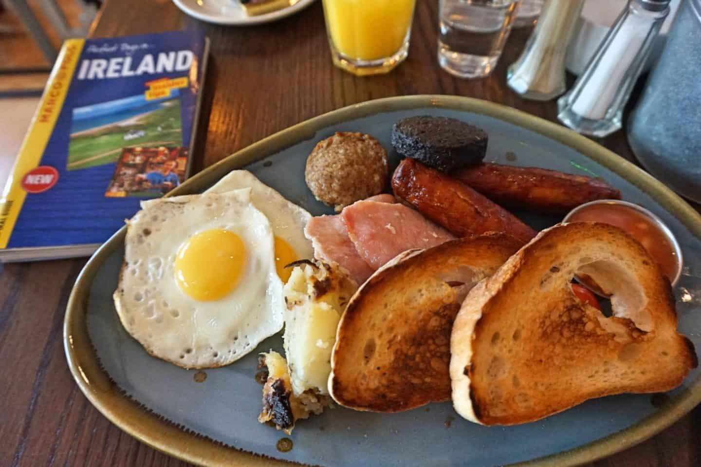 The Buttery Full irish breakfast limerick
