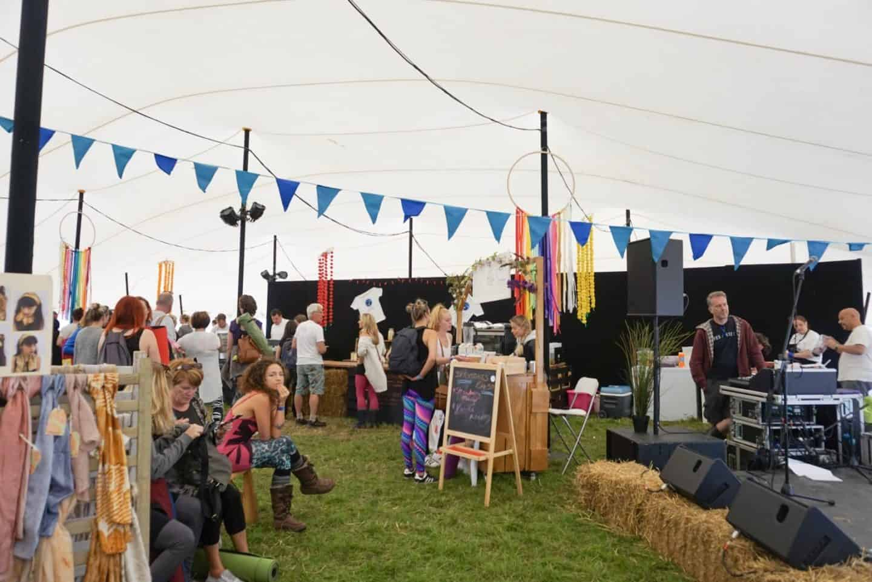 food tent soul circus festival