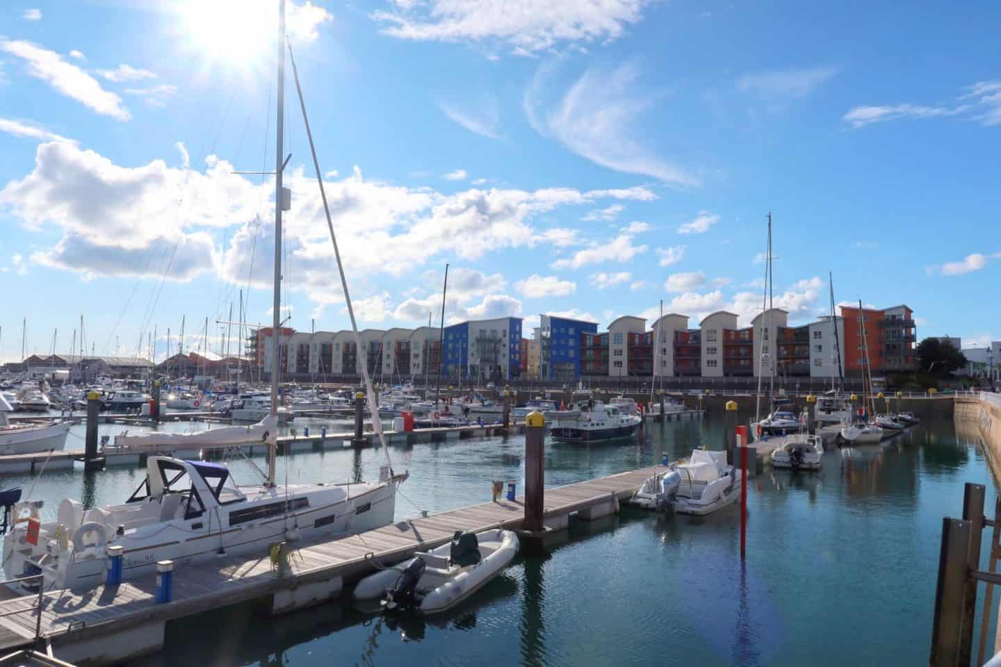Jersey British Isles weekend guide st helier harbour