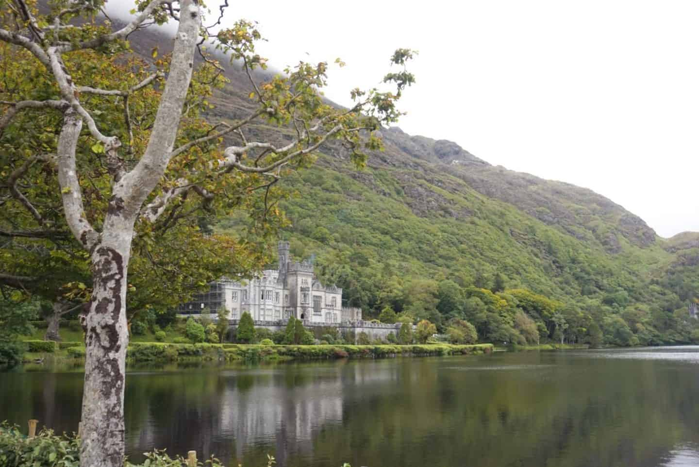 kylemore abbey west coast of ireland road trip
