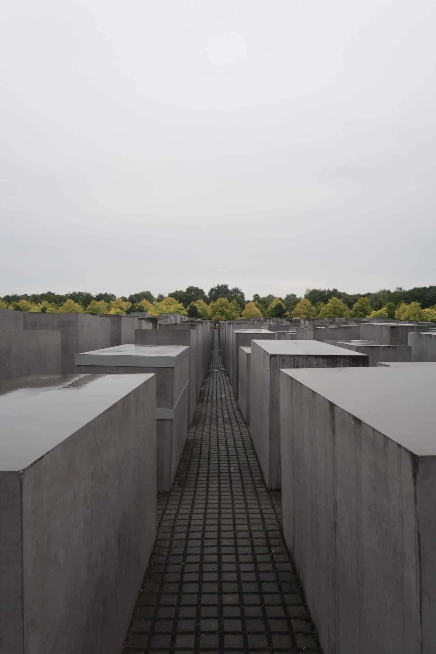 berlin memorial of the murdered jews of europe