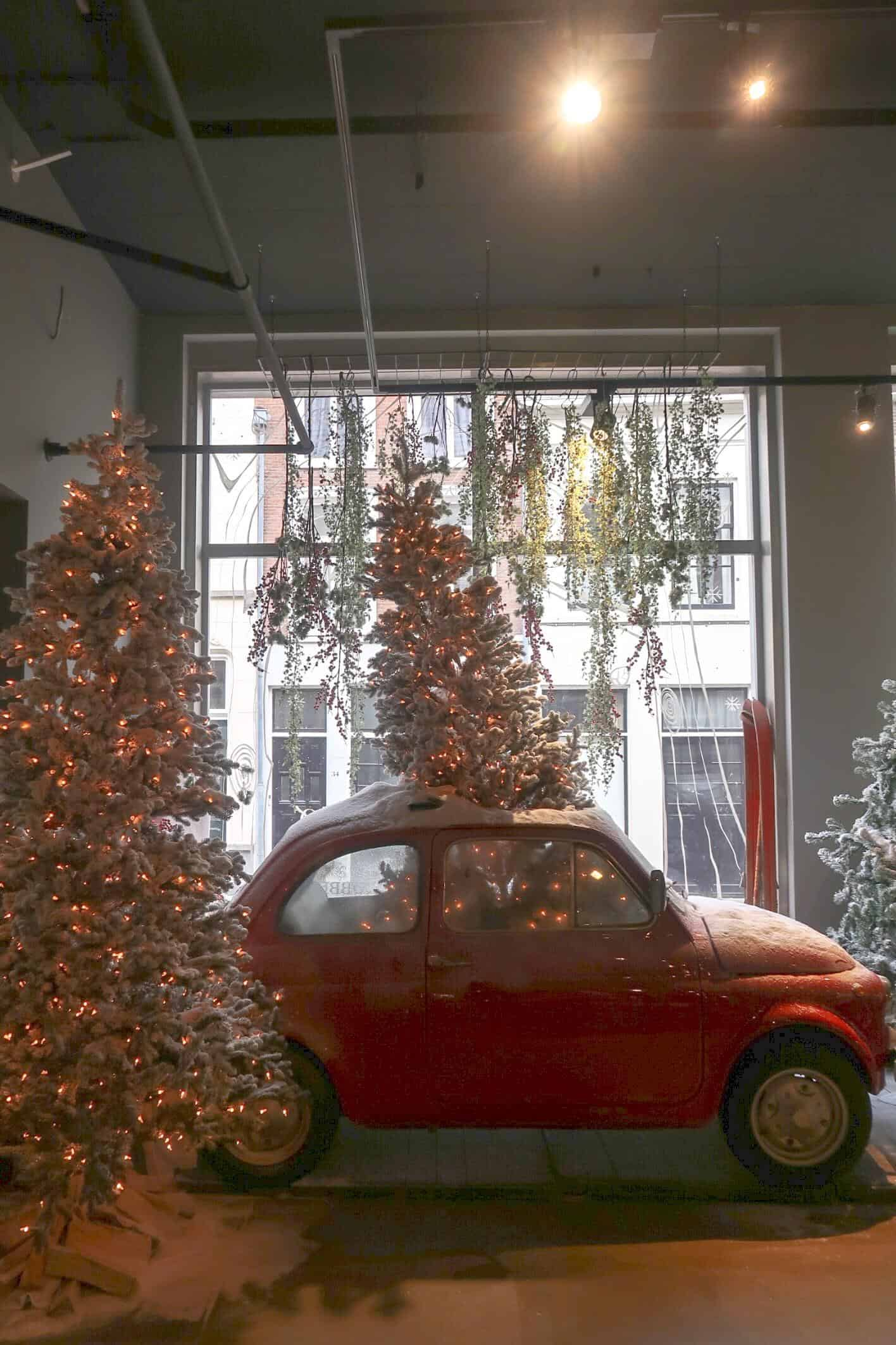 Den Bosch shopping eating Robbies christmas