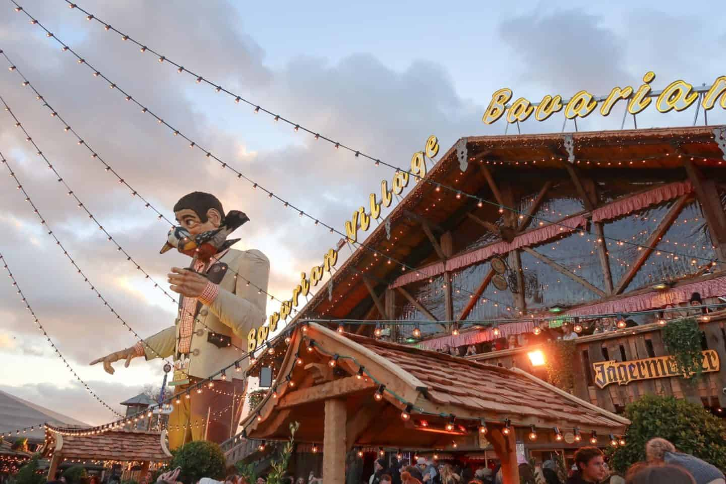 Christmas London Guide Walk winter wonderland bavarian village
