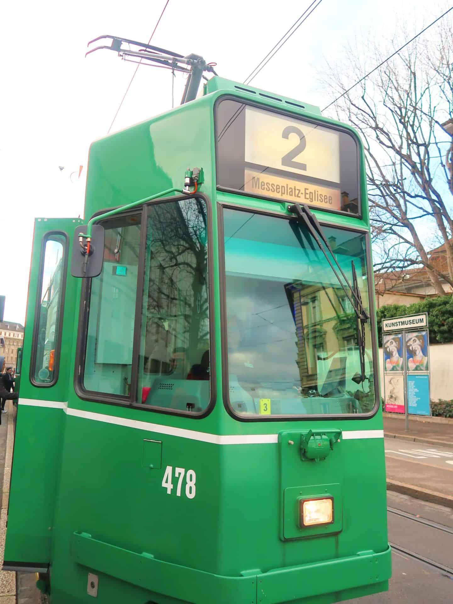 basel switzerland city guide tram