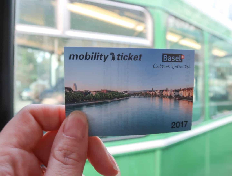 basel switzerland city guide transport card