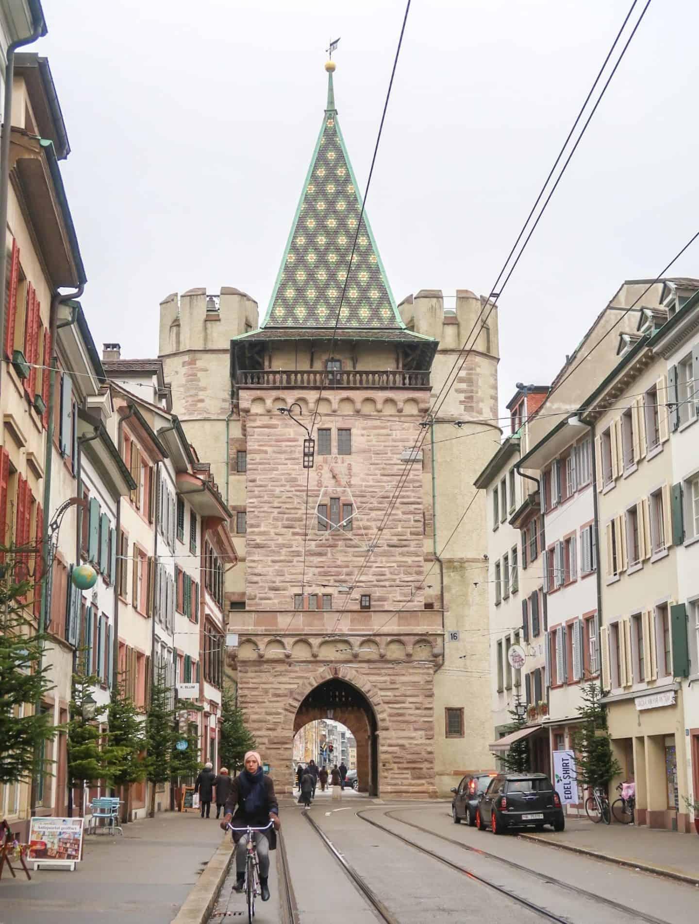 basel switzerland city guide city gate