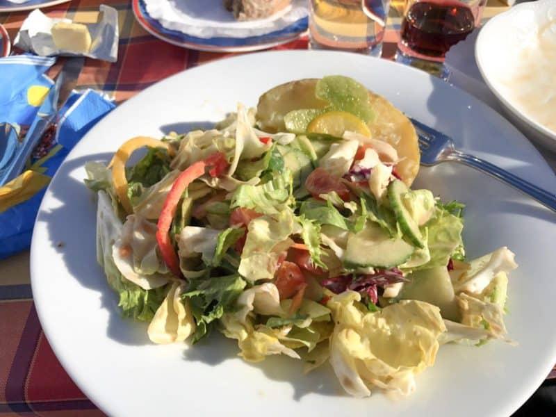 vegan food on ski trip