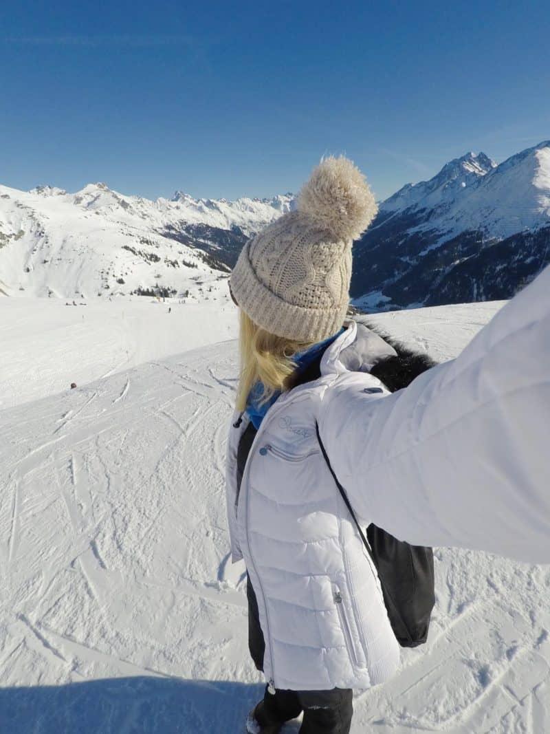 non-skier packing list ski jacket
