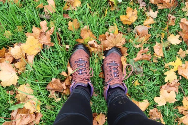 recommended walking boots autumn