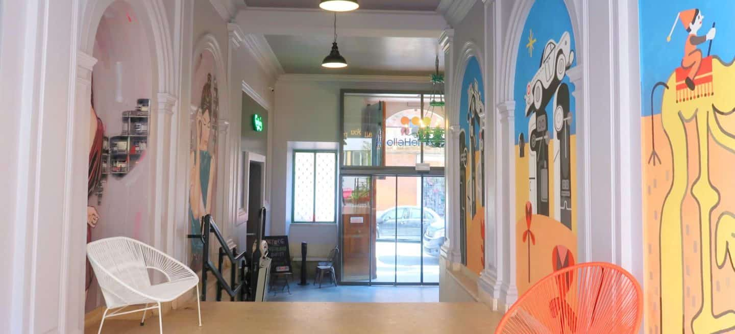 Checking into: The RomeHello Hostel! An Awesome Street Art Focused Hostel in Rome!