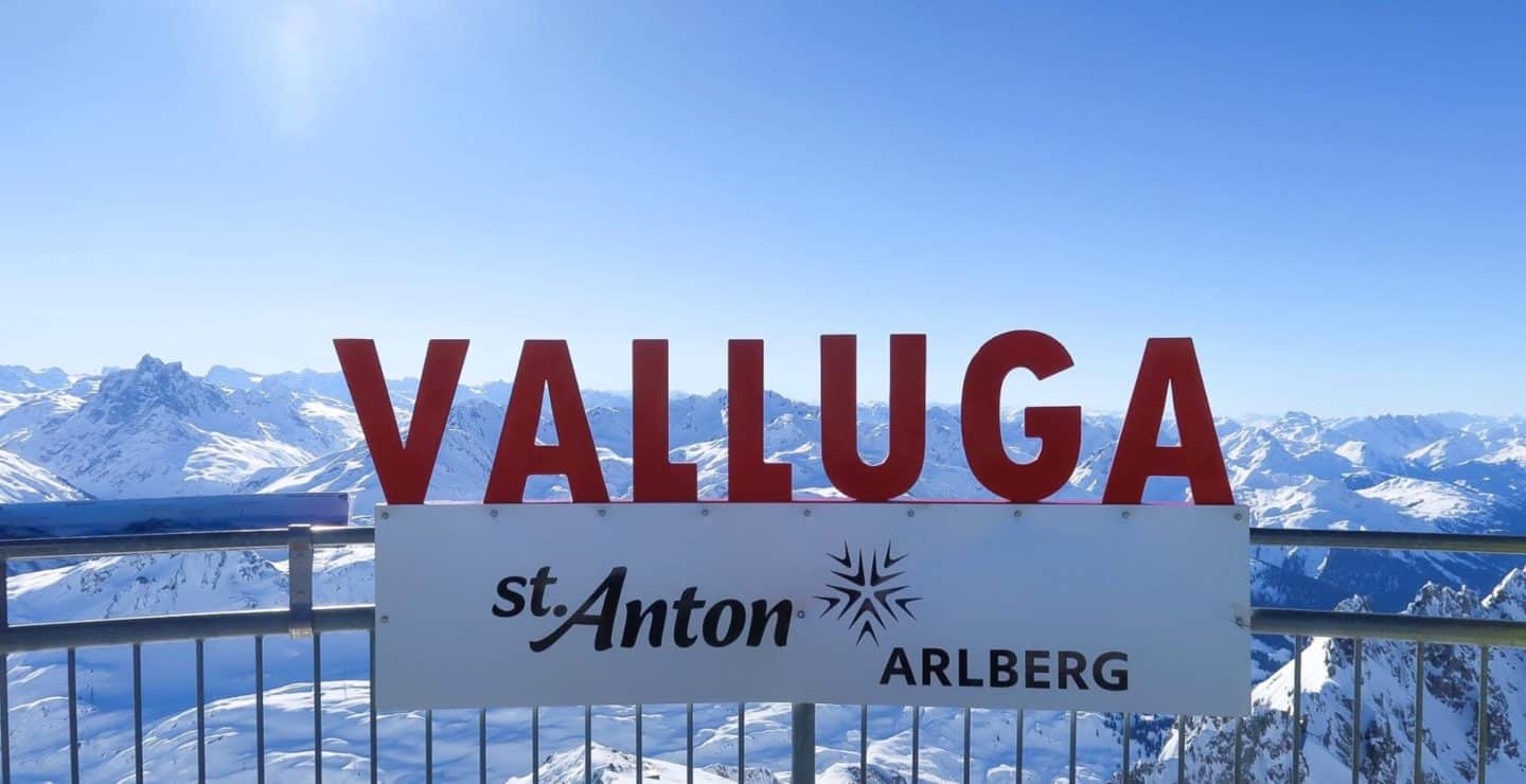 Visiting the Valluga Viewpoint in St Anton, Austria to see over 5 Countries!
