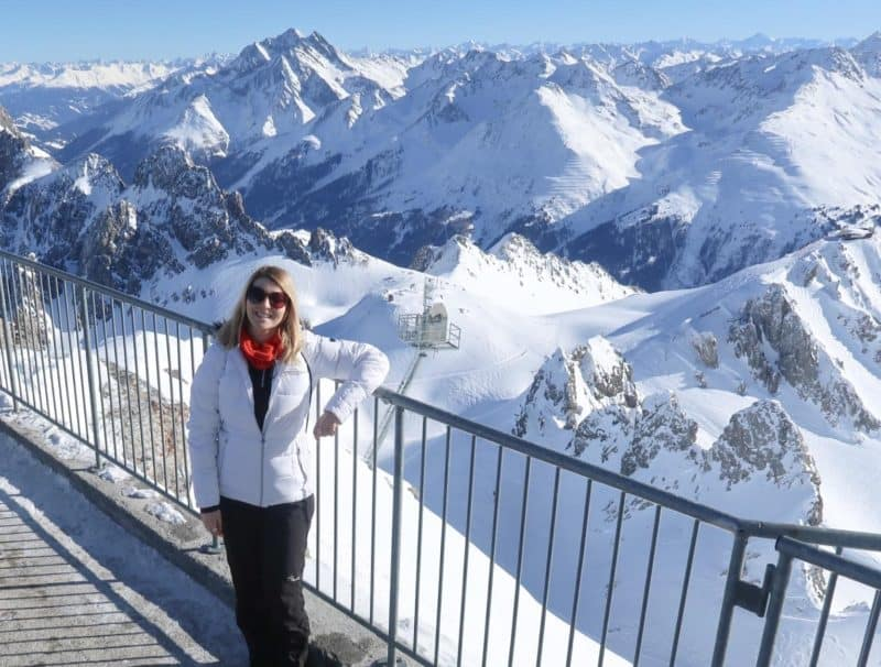 visiting valluga viewpoint st anton austra