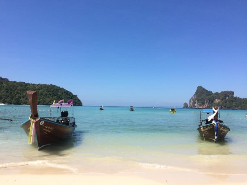 thailand party itinerary phi phi