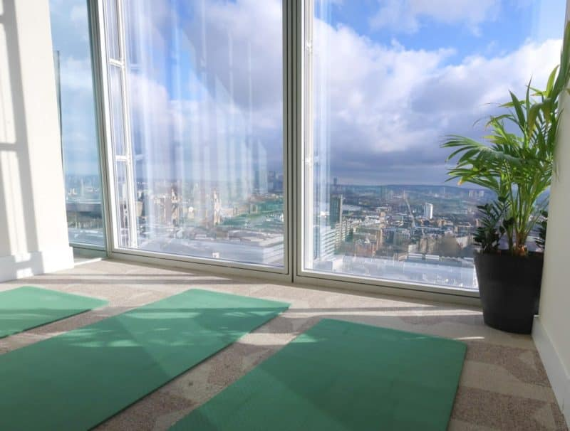 yoga class the shard london