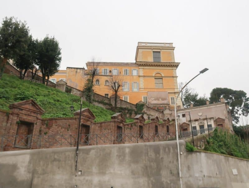 Trastevere monastery