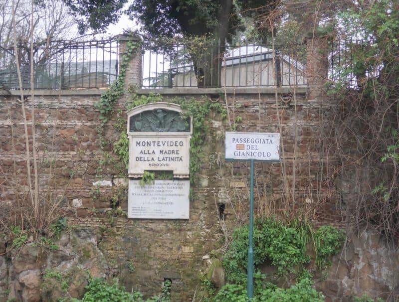 Gianicolo Hill Rome