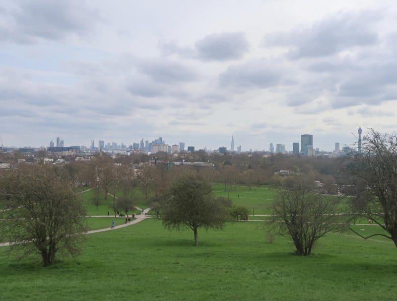 Primrose Hill View over London