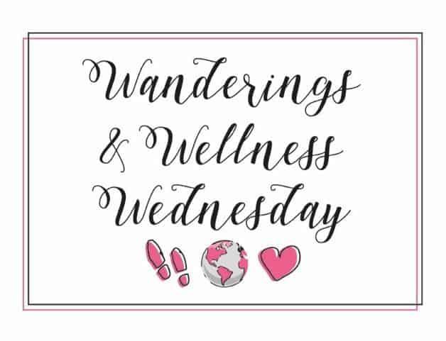wanderings and wellness wednesday newsletter logo