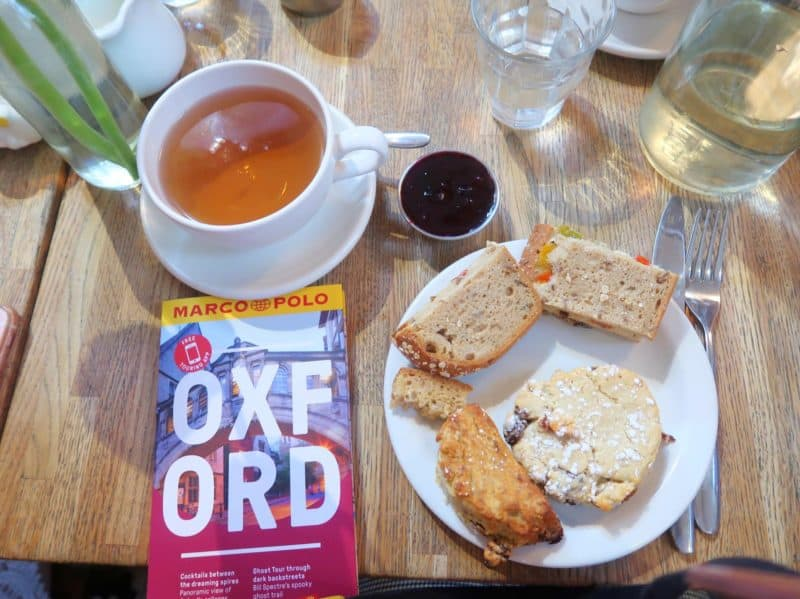 oxford things to do afternoon tea
