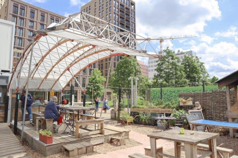 Kings Cross and Euston Things to do Skip Garden