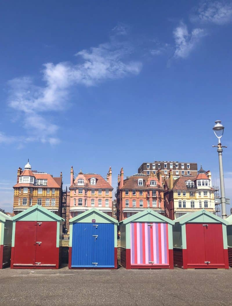brighton things to do on a day trip from London hove huts