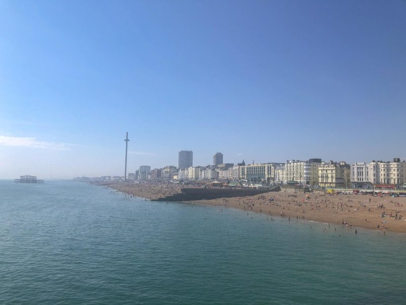 brighton things to do on a day trip from London i360