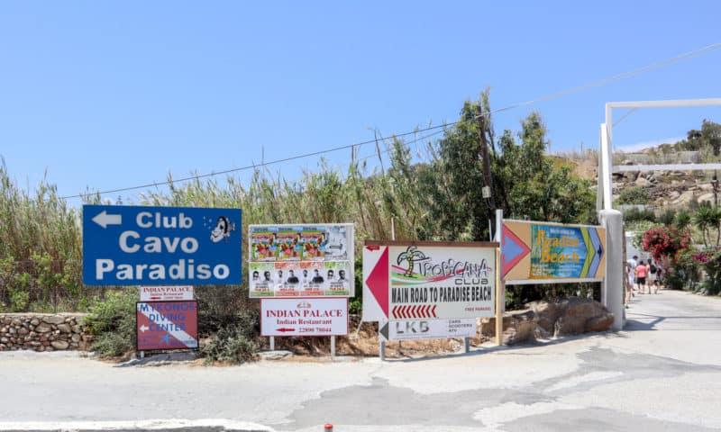 Paradise Beach Party Mykonos