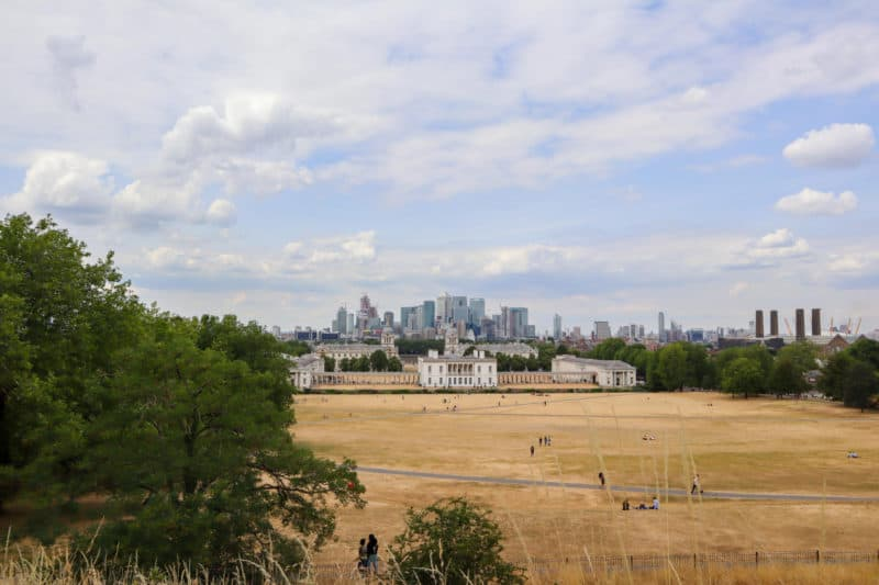 Greenwich London things to do Greenwich park views