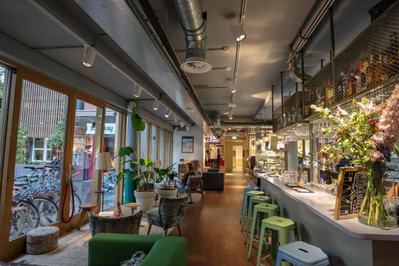 Stayokay hostel Vondelpark Amsterdam bar