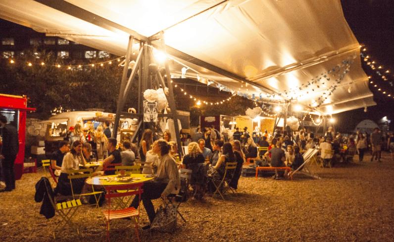 London Street food market