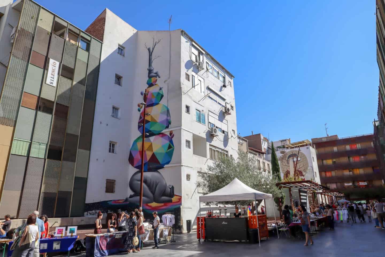 guide to Zaragoza spain sunday market