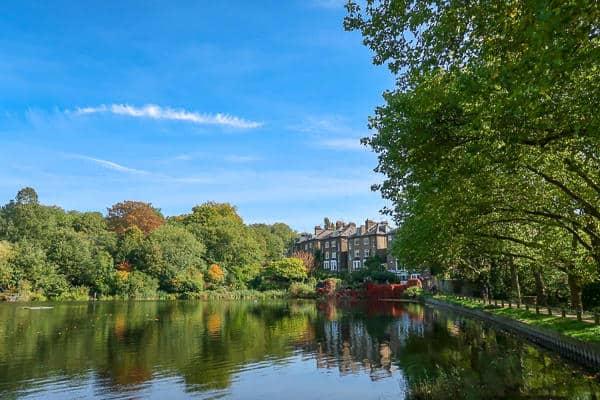 Hampstead Heath in Autumn